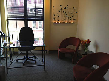 collaborative practice center of greater washington reception area